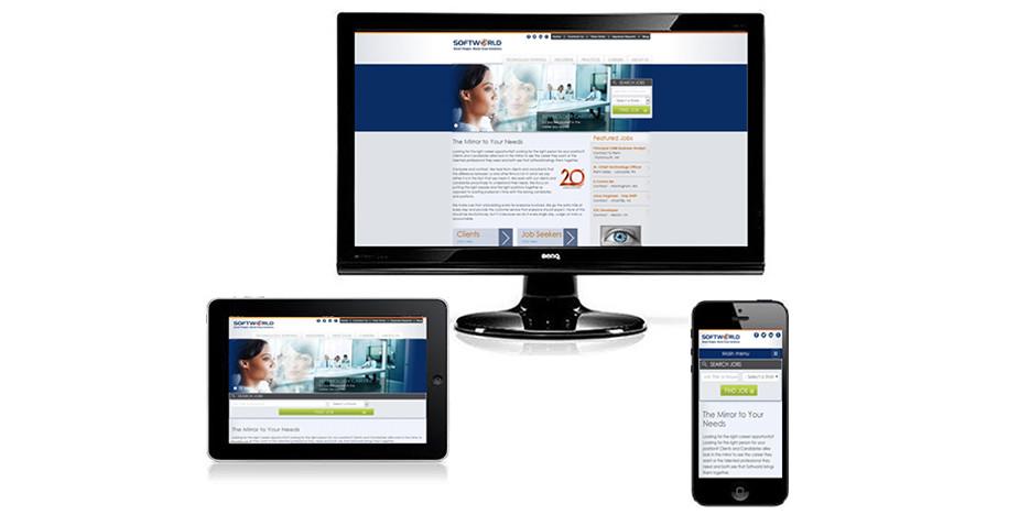 Technology Staffing Website