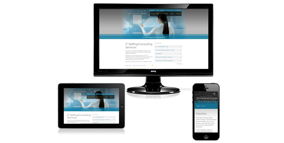 Technology Staffing Firm Website